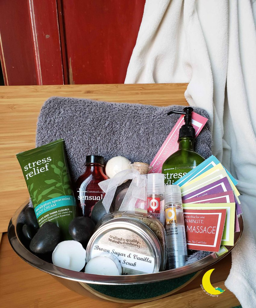 Spa Date Night and Massage Kit for an Awesome At Home Date