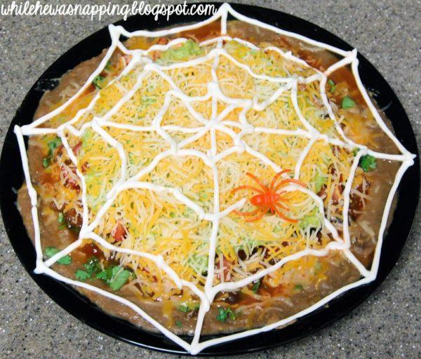 Spider Web Nachos