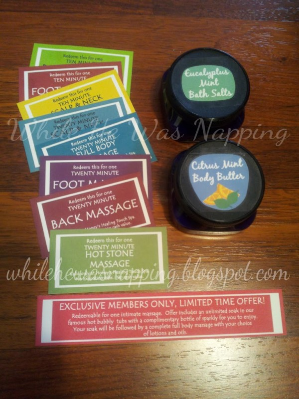 Valentine Massage Kit