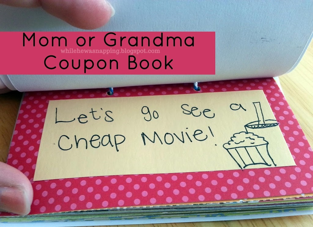 mom or grandma gift activity coupons free printable while he was napping