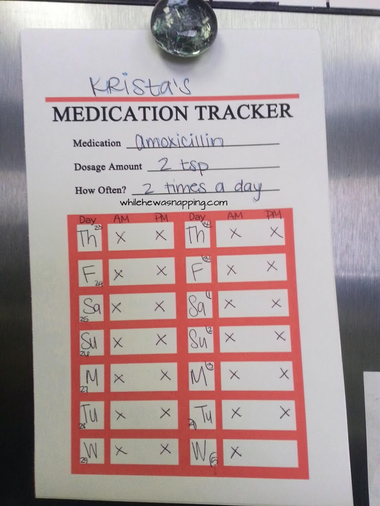 Free Printable Medication Trackers