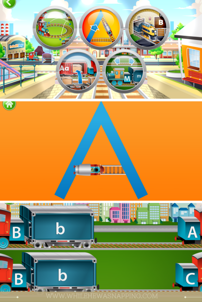 ABC Apps Kids ABC Trains