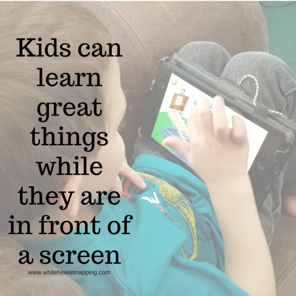 ABC Apps Kids can learn great things while they are in front of a screen