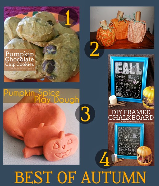 Awesome Autumn Projects! Food, decor, crafts, printables and kids projects!