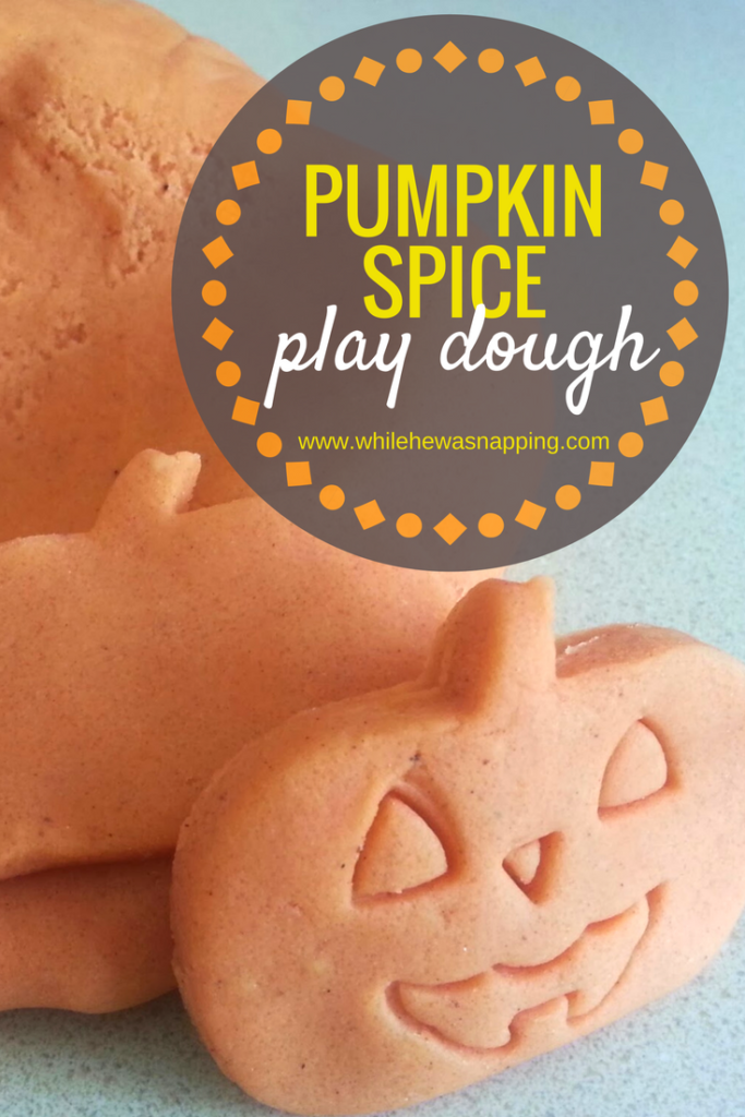 Pumpkin Spice Play Dough is the perfect Fall and Halloween sensory activity! Soft, smells amazing and kids LOVE it!