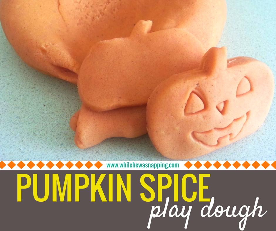 The Best Pumpkin Spice Play Dough Ever