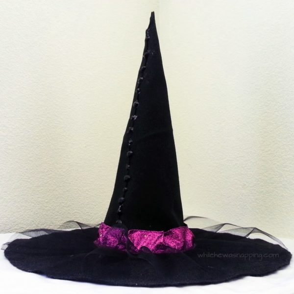 No-Sew DIY Witch Hat