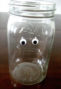 Mummy Jars - add eyes