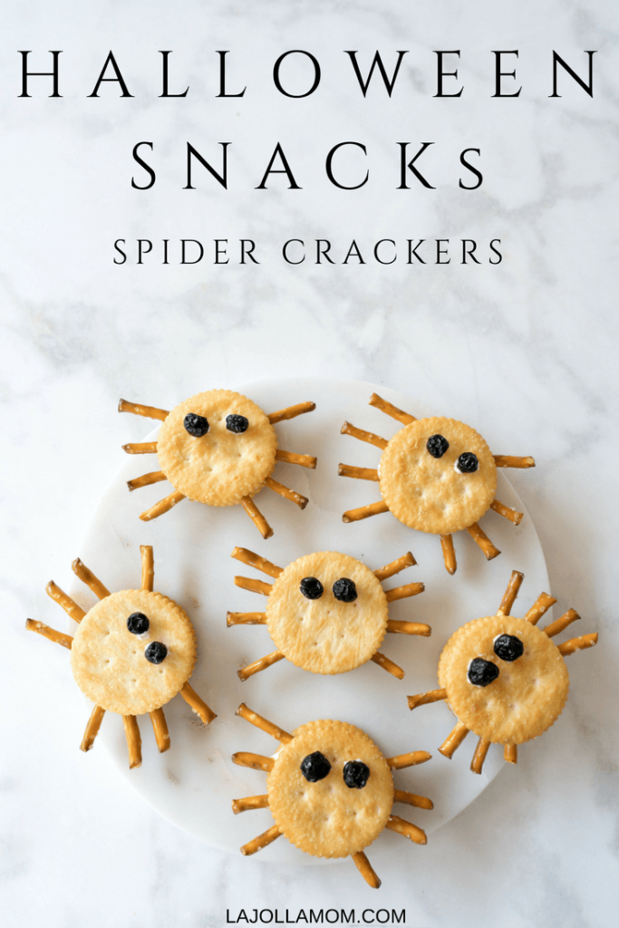 Spider Crackers originally found on La Jolla Mom