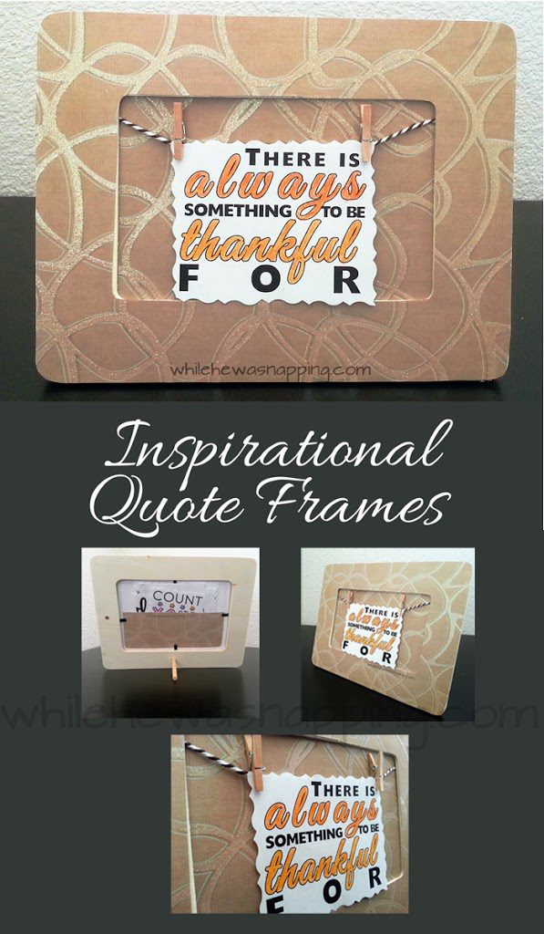 Inspirational Quote Frame