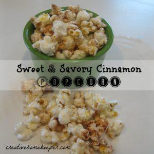 ss cinnamon popcorn