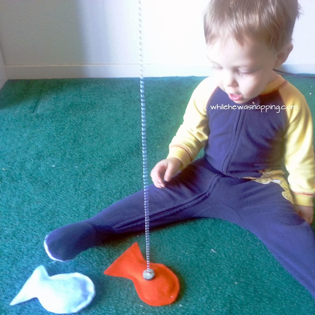 DIY Kid's Felt Fishing Set