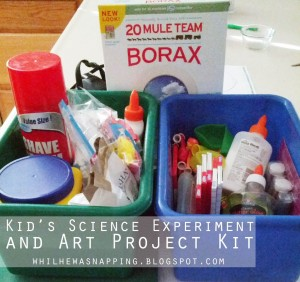 Kid's Science and Art Kit