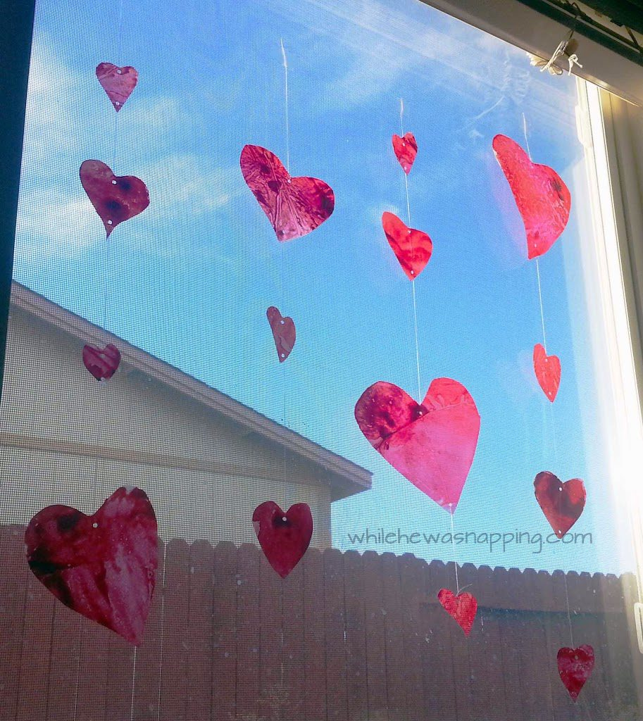 Recycle those old broken crayons into a fun and pretty project. DIY suncatchers are fun for everyone!