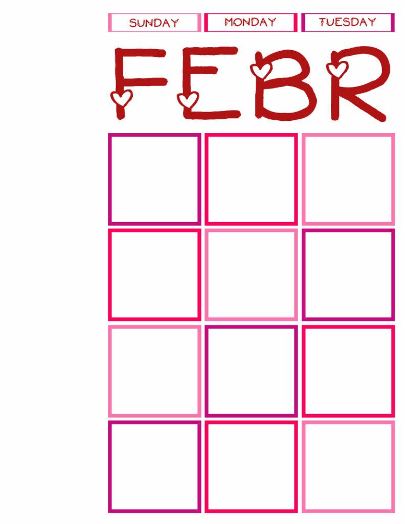 Calendar Journal 2014 Sun-Tues P&P
