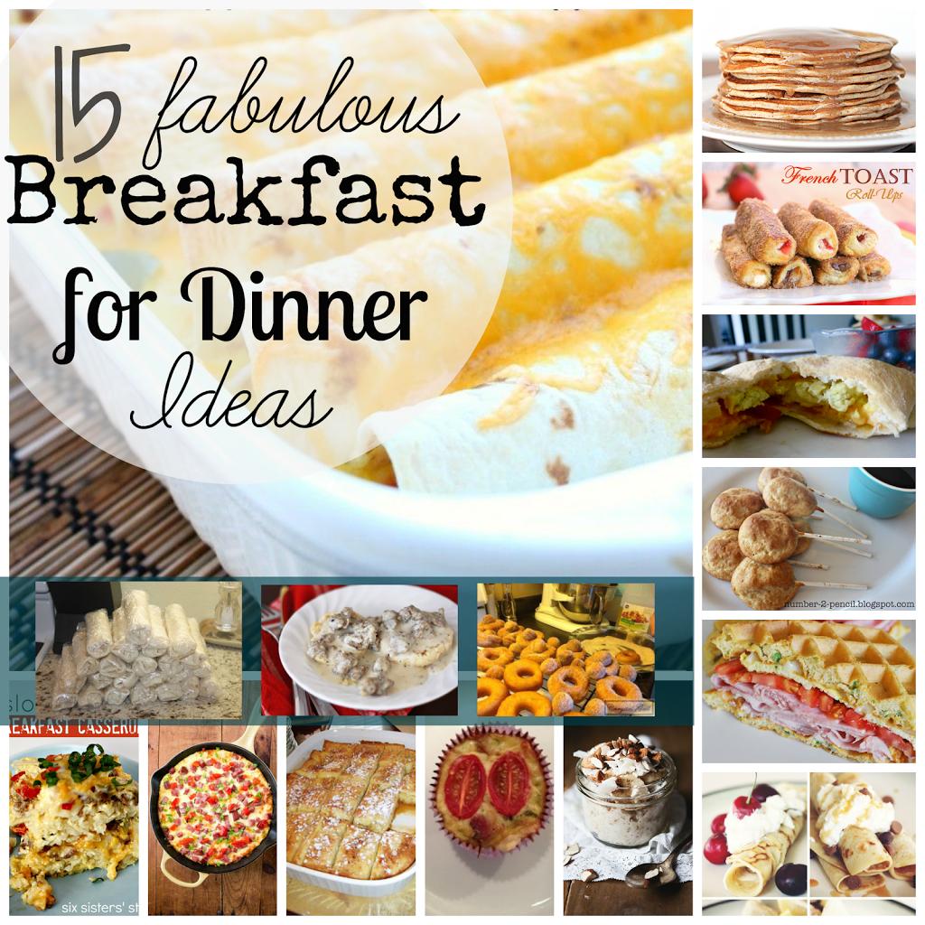 Image result for breakfast for dinner