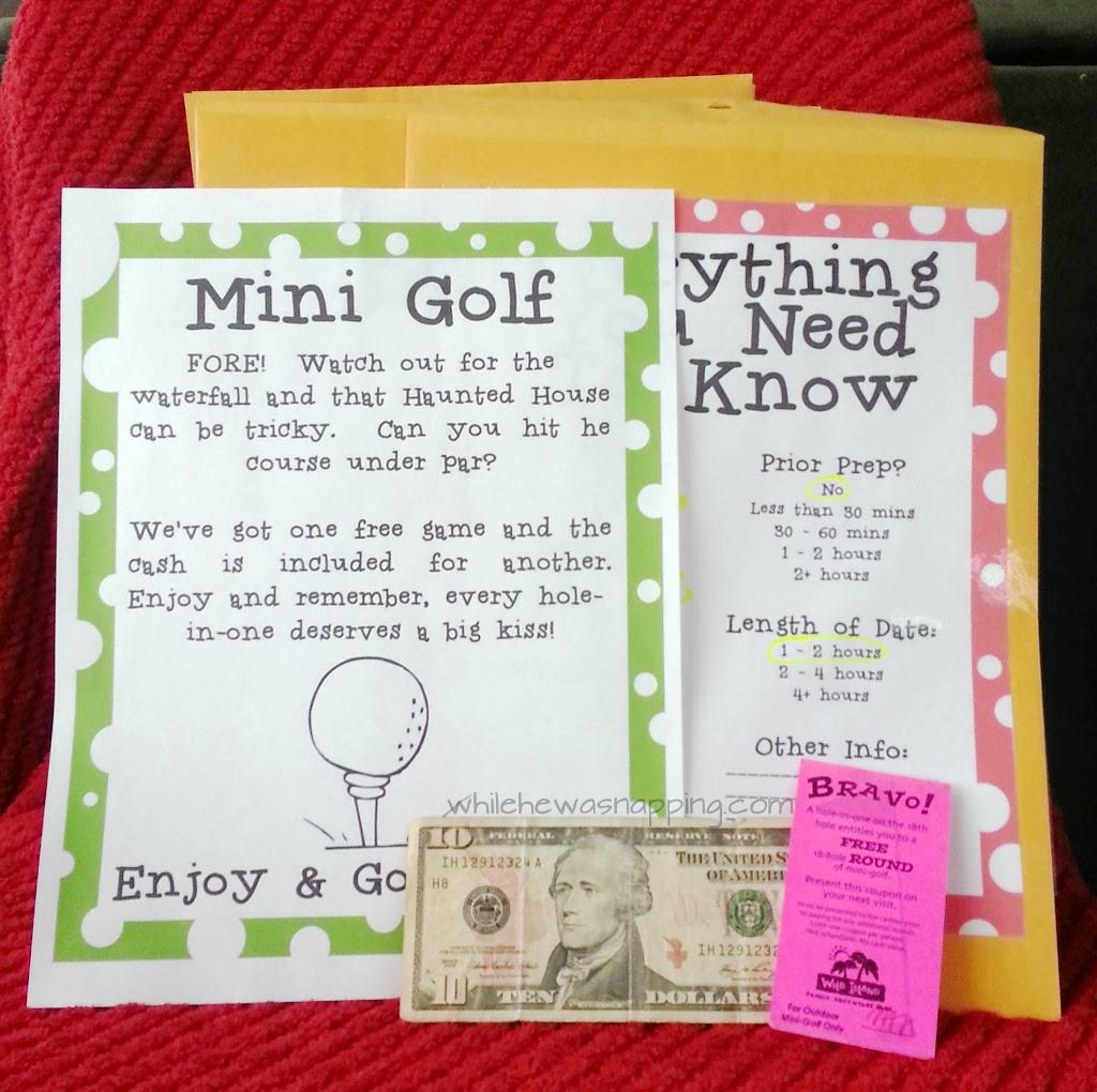 mini golf date tips