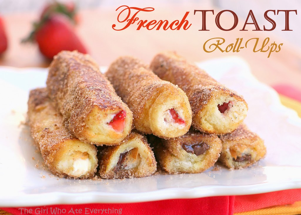 French Toast Roll Ups by The Girl Who Ate Everything (
