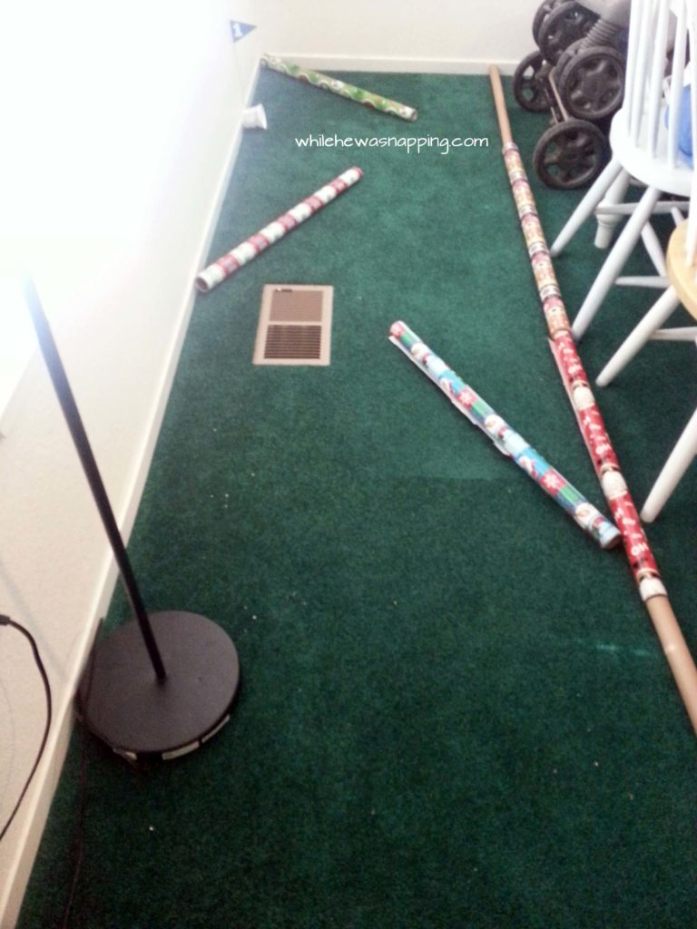 Create a fun Indoor DIY Mini Golf using things you already have! A fun afternoon activity