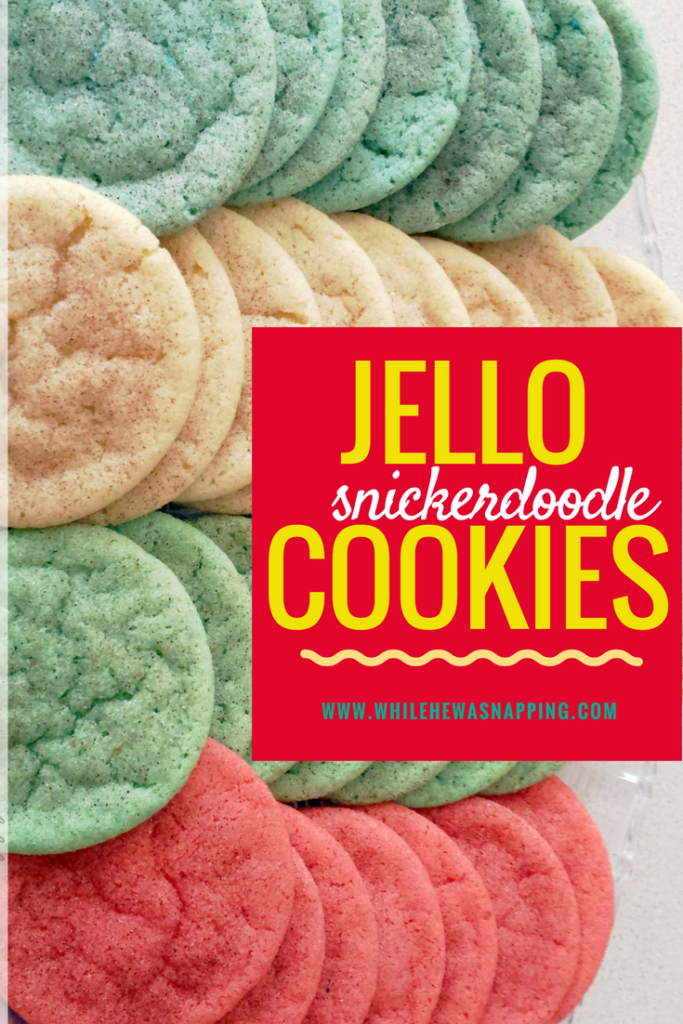 Jello Snickerdoodle Cookies