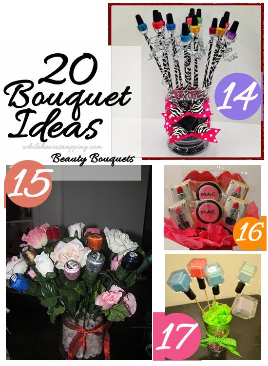 Nail Polish Bouquet Ideas | Splendid Wedding Company
