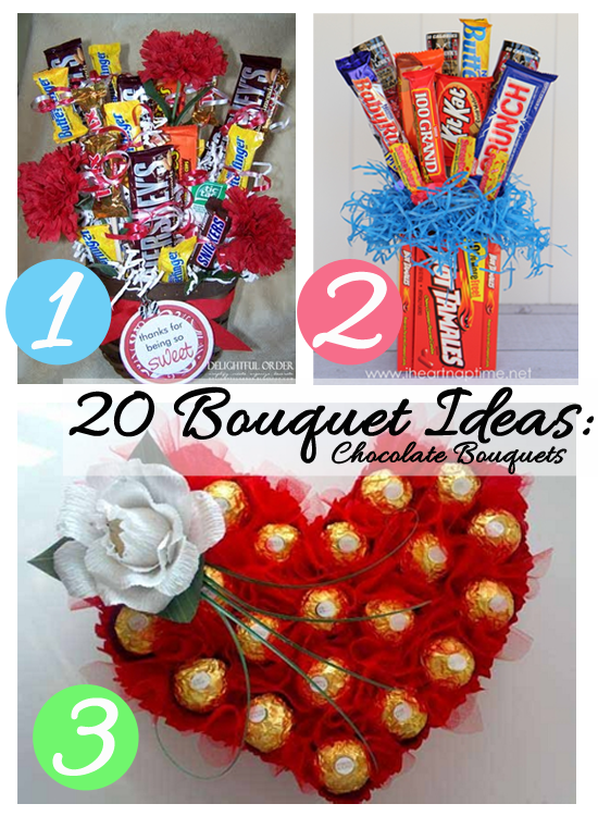 DIY Mother\'s Day Bouquets | While He Was Napping