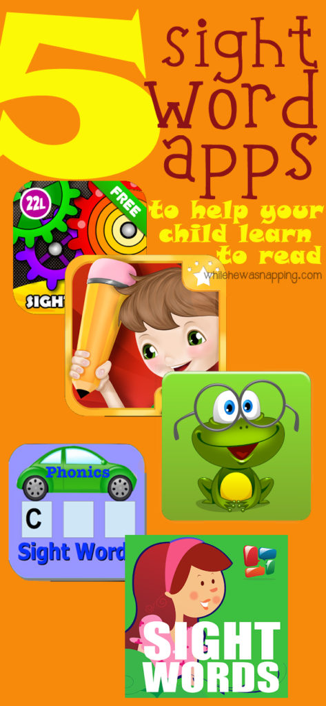 Sight Word Apps for Kids