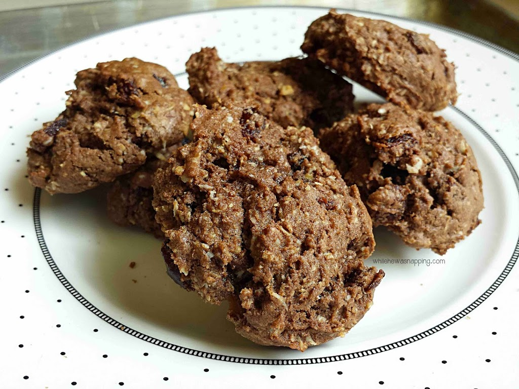 Chocolate Oatmeal Raisin Cookies the whole family will love!