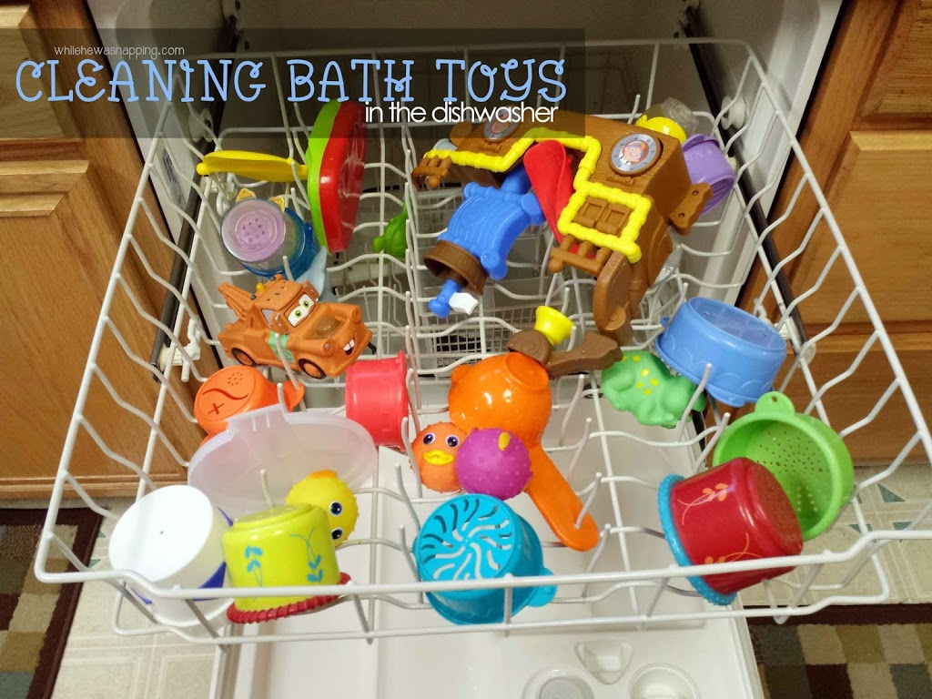 I Do These Cleaning Routines Once A Week. My Boys Usually Get Baths 2 3  Times A Week, Depending On Our Activities. The Best Way To Keep The Toys  Clean ...