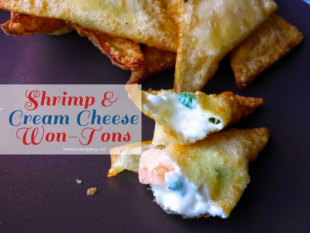 Shrimp and Cream Cheese Wontons