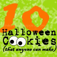 Ten Halloween Cookies anyone can make