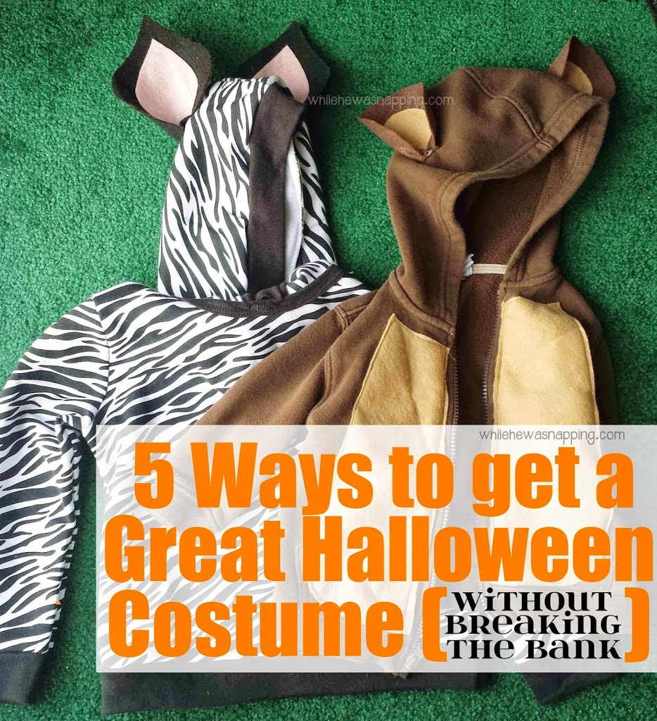 5 Ways to Get a Great Halloween Costume on a budget