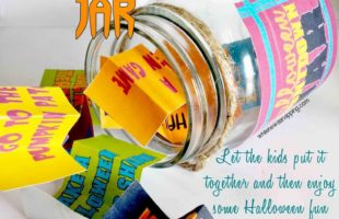 Halloween Countdown Printable Boredom Jar