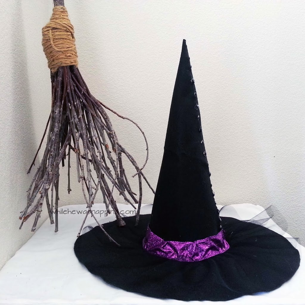 No-Sew Witch Hat DIY
