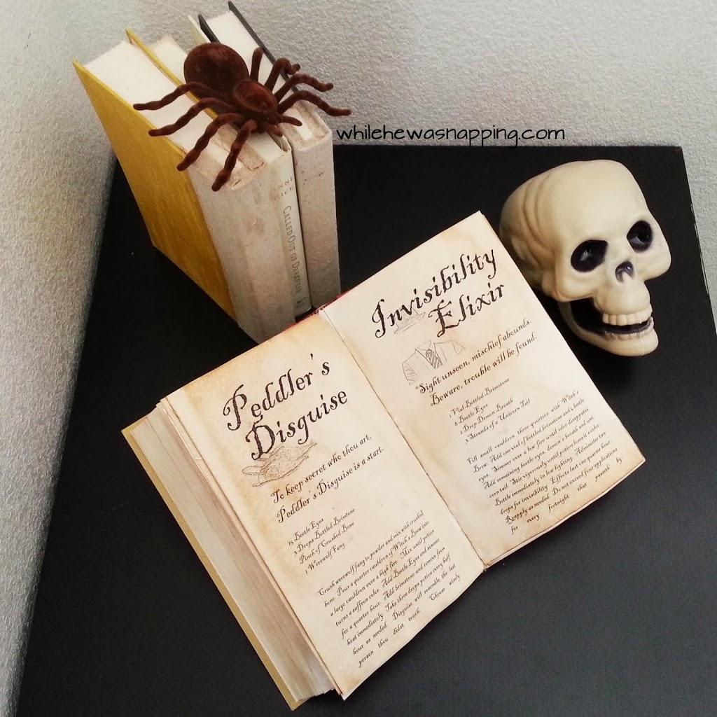 DIY Spell Books