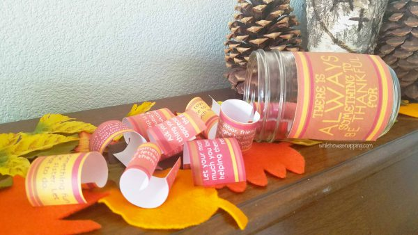 Encourage Thankfulness with the Gratitude Jar and it's 10 fun activities