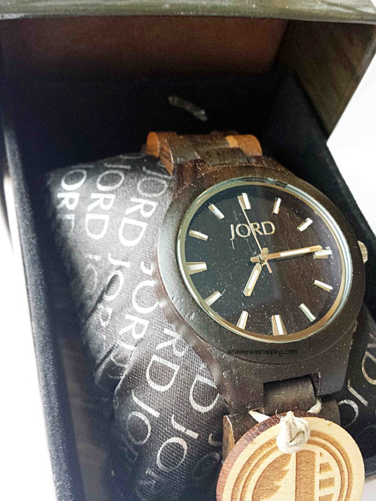 JORD Wood Watch in box