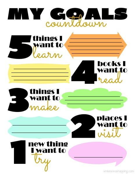 LR Goals Countdown