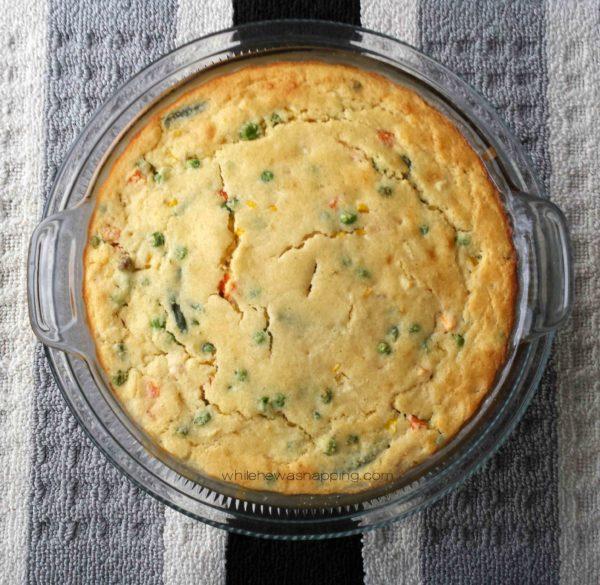 Easy Casserole Chicken Pot Pie