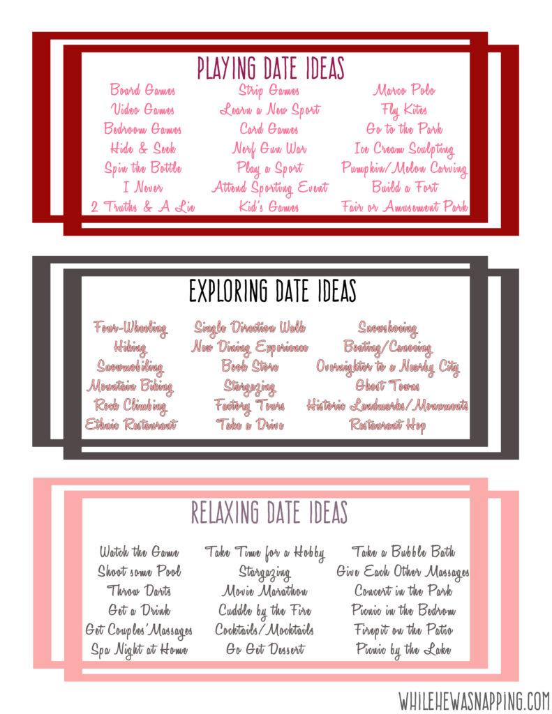 Date Ideas 4