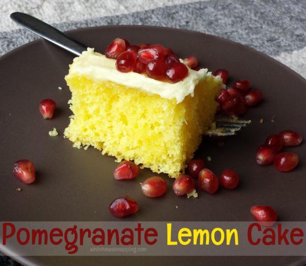 Pomegranate Lemon Cake
