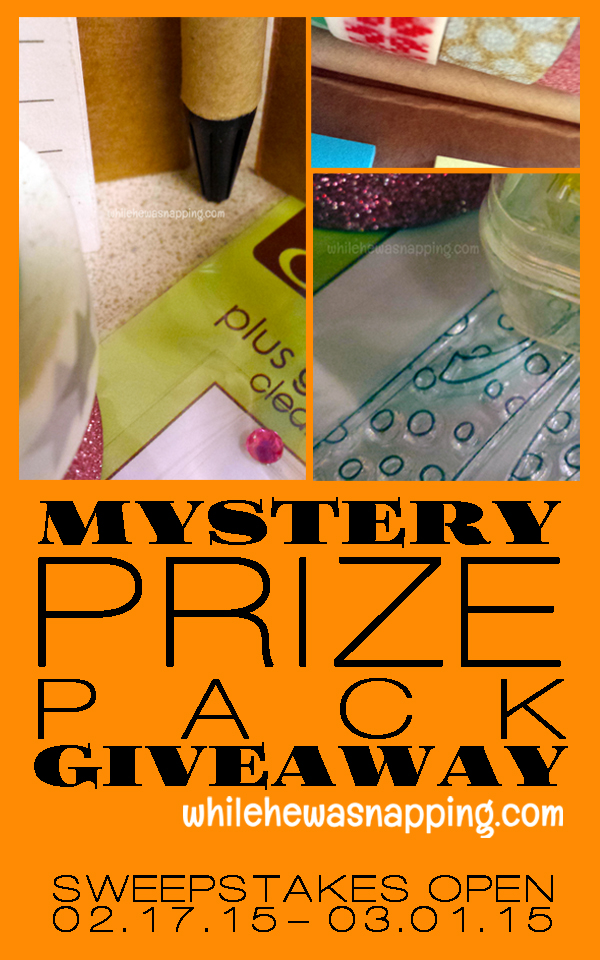 Mystery Prize Pack Giveaway