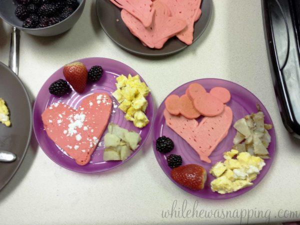 Valentine's Day Dinner-Breakfast for Dinner