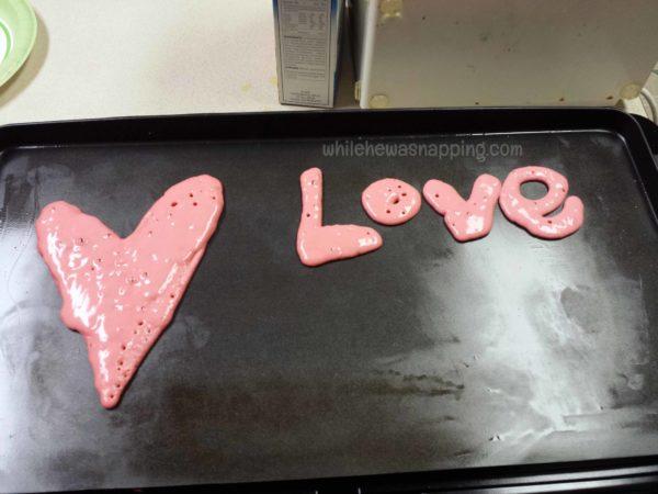 Valentine's Day Dinner-LovePancakes