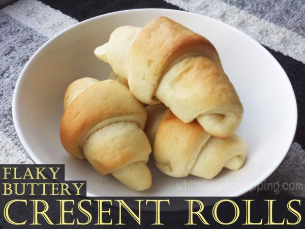 buttery cresent rolls recipe