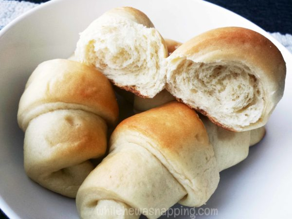 flaky buttery cresent rolls