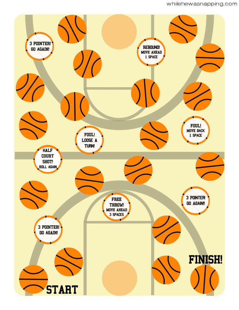 Basketball Court GameBoard