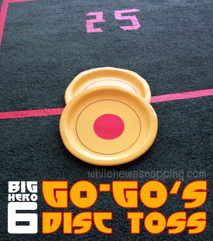 Big Hero 6 Game GoGo's Disc Toss