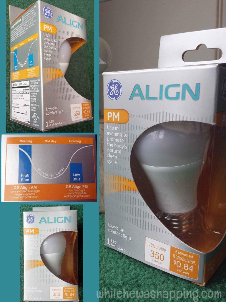 GE Align PM Light Bulb
