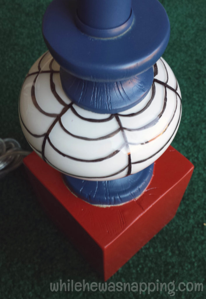 GE Align PM Light Bulb Spider-Man Glass Bulb Spider Web